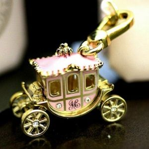 New in box Juicy Couture princess Carriage Charm